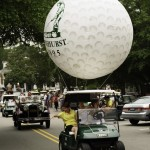 Giant Pinehurst golf ball