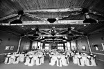 Banquet hall all decked out