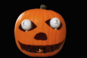 Golf Themed Pumpkin