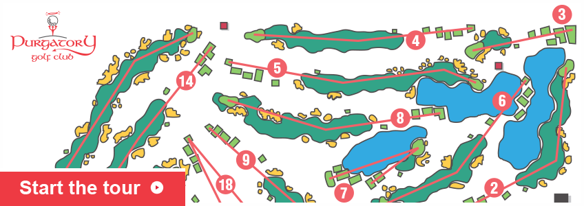 map of puragtory golf course indiana