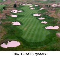 #16 golf hole at Purgatory Golf Club
