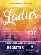 Ladies Night Flyer